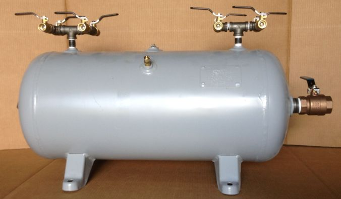 large compressor air tank