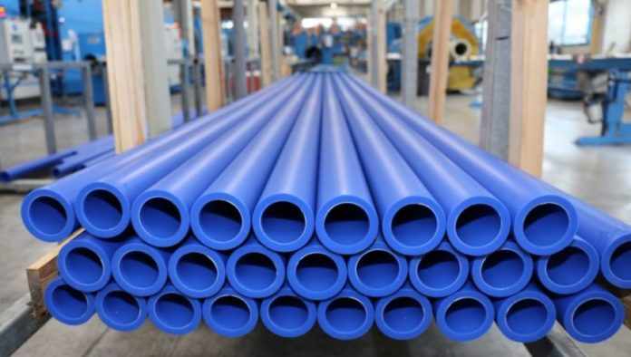 plastic compressed air piping