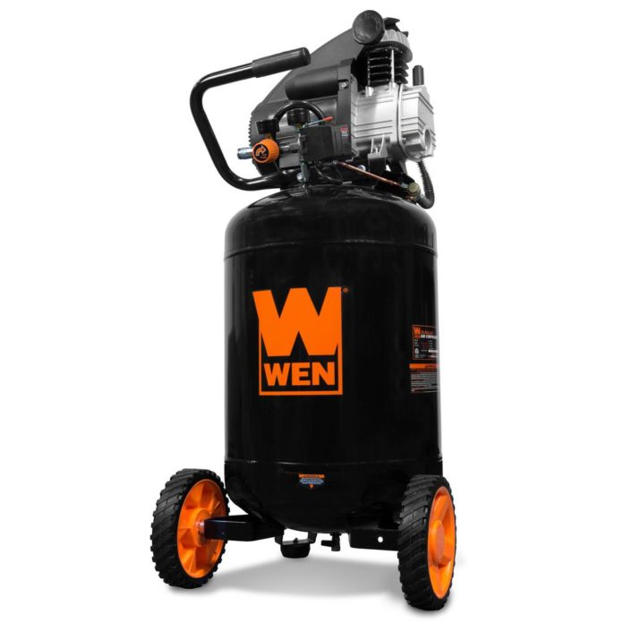 Re-orient your air compressor