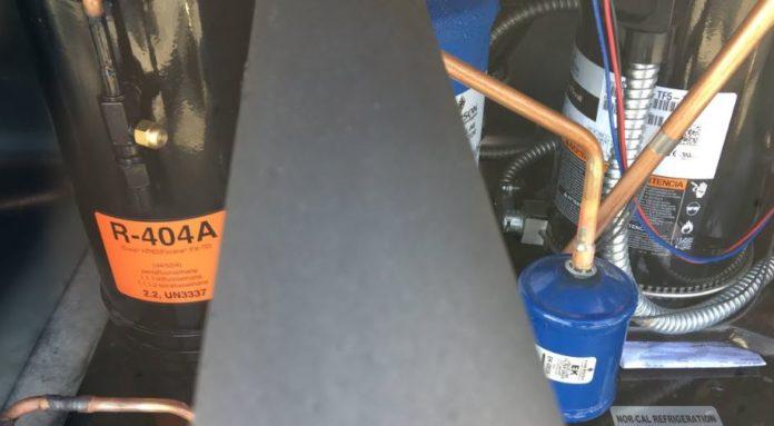 compressor popping breakers