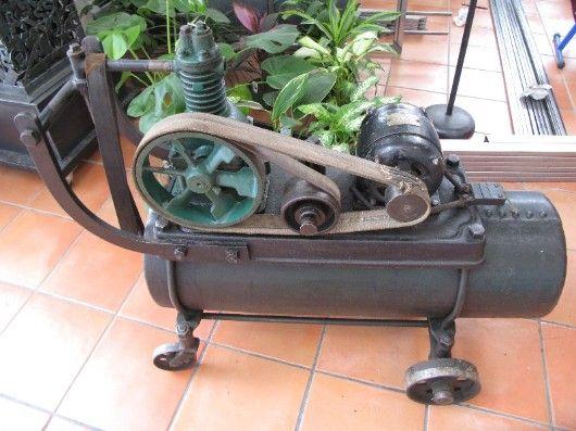 overhaul old air compressor