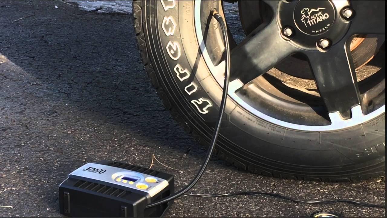air compresor car tire