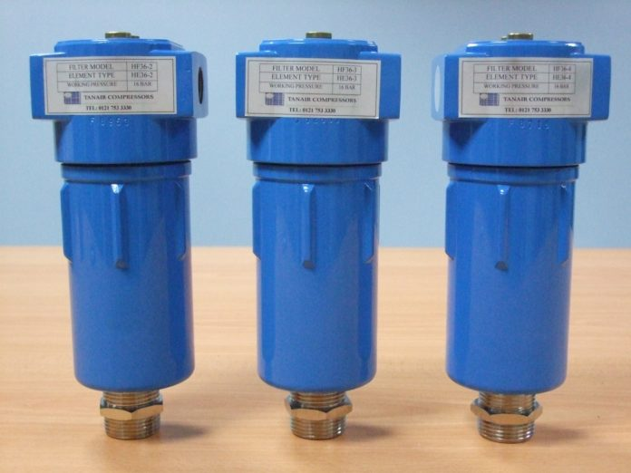 compressed air pre-filter