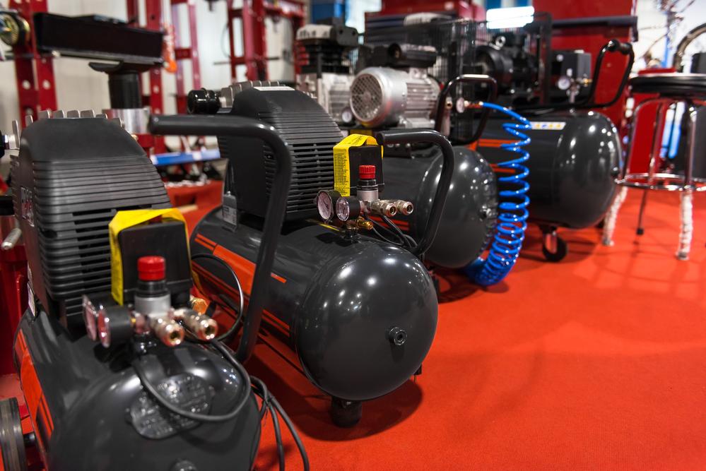 Air compressor pressure pumps