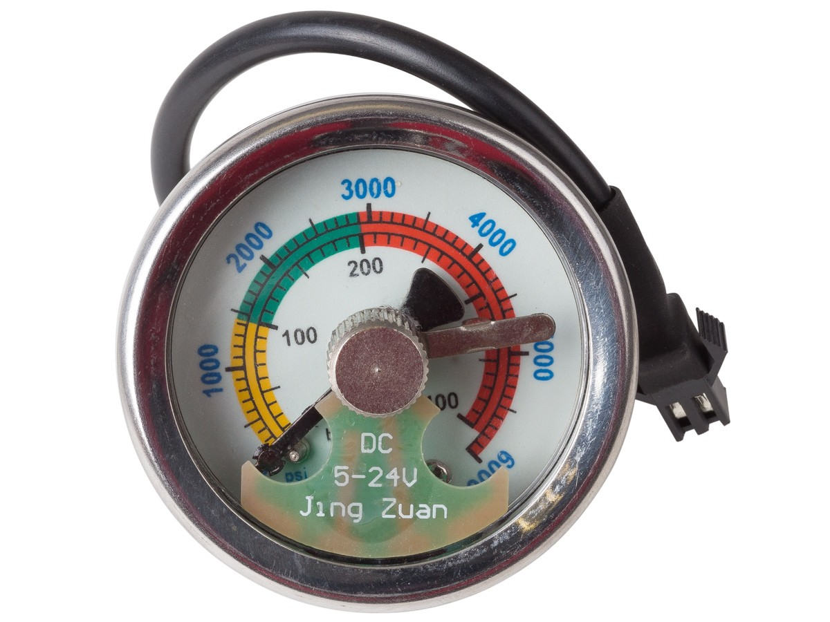 Air Gauge Pressure Ranges
