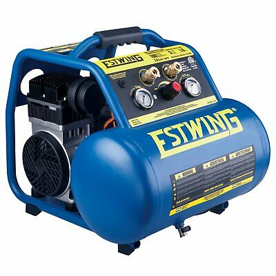 Estwing E5GCOMP 5 Gallon Quiet High Pressure Portable Air Compressor