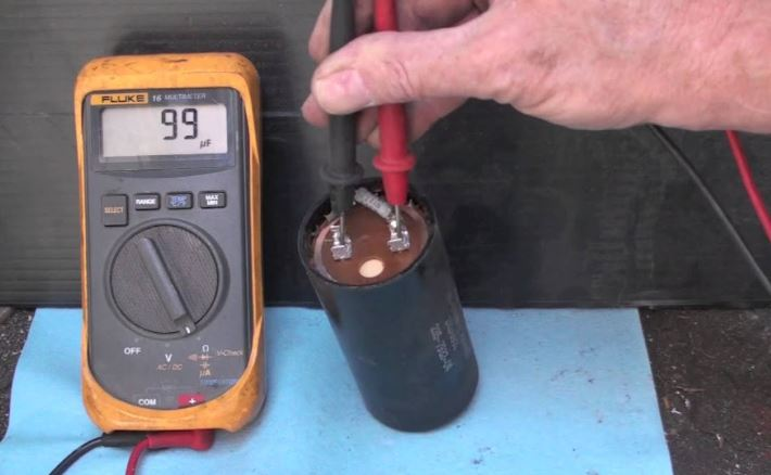 Replacement Compressor Capacitor Testing