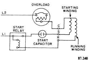 Single-Phase Compressor capacitor